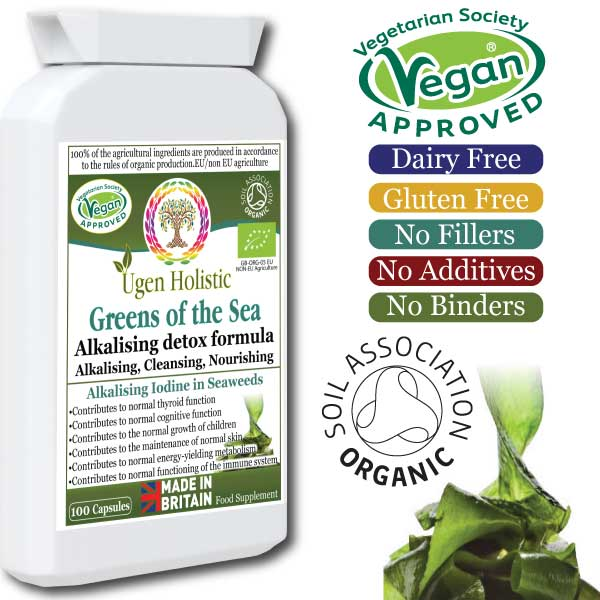Greens Of The Sea Organic Seaweed, Vegetable & Herbal Formula